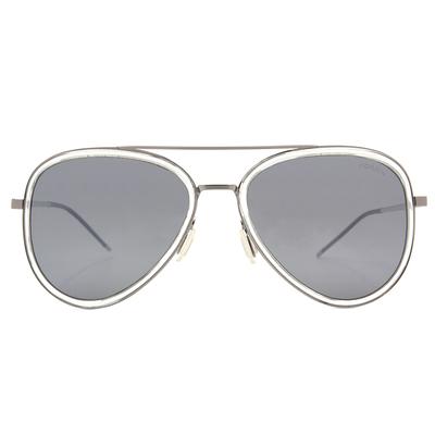 HORIEN 品味簡約飛官框墨鏡  ☀炭晶灰