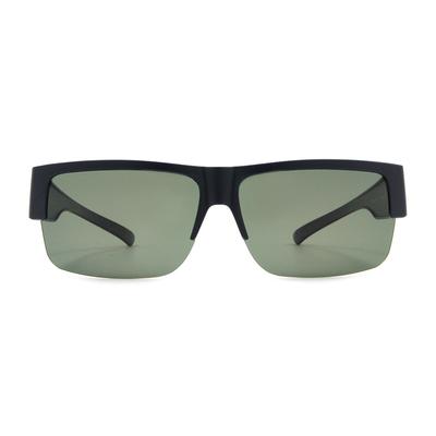 K-DESIGN 套鏡 l 領袖風眼鏡範眉框眼鏡墨鏡  風眼鏡格藍