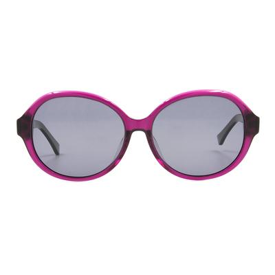 K-DESIGN 20▼簡約浪漫蝴蝶框墨鏡  神秘紫