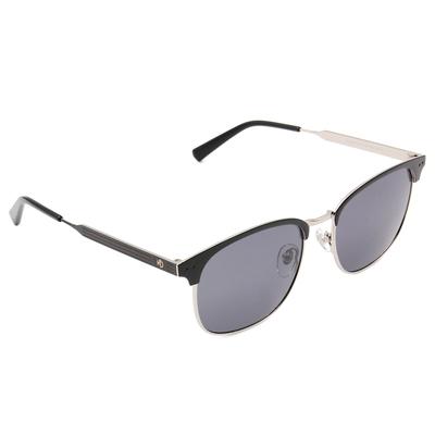 K-DESIGN 20▼義式線調眉框墨鏡  紳士銀