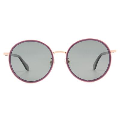 K-DESIGN 20▼摩登時代大圓框墨鏡  新貴紫