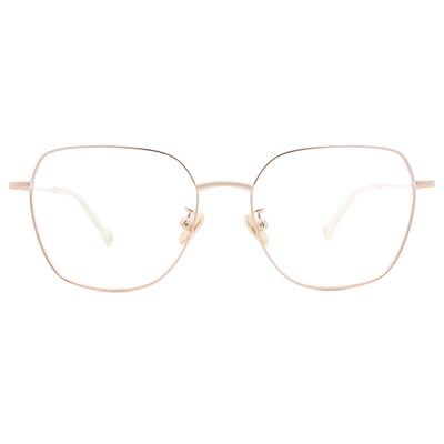 K-DESIGN KREATE l 廣告款眼鏡 l 高貴淡雅大方框眼鏡🎨 珠光白