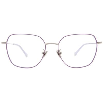 K-DESIGN KREATE l 廣告款眼鏡 l 高貴淡雅大方框眼鏡🎨 馬卡龍紫