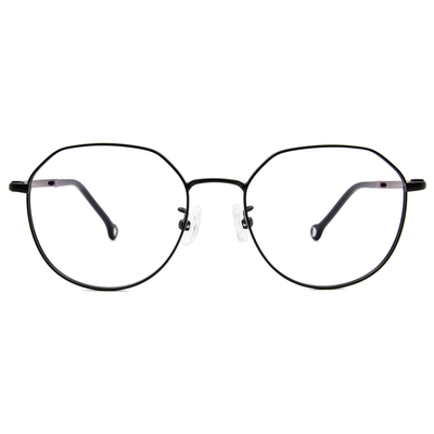 K-DESIGN KREATE 輕彈個性多邊框眼鏡 🎨 黑/漸變紫綠
