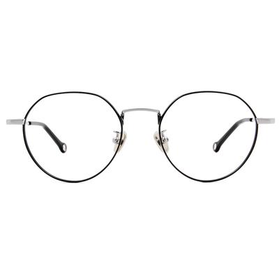 K-DESIGN KREATE 古典花園波士頓框眼鏡🎨 星空黑