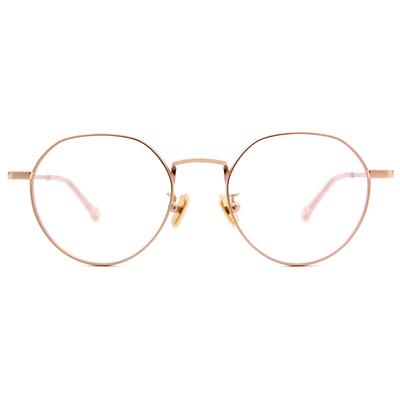 K-DESIGN KREATE 古典花園波士頓框眼鏡🎨 氣質粉