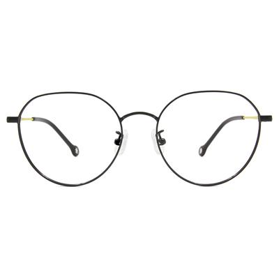 K-DESIGN KREATE l 廣告款眼鏡 l 異想世界設計圓框眼鏡🎨 黑/芥末黃