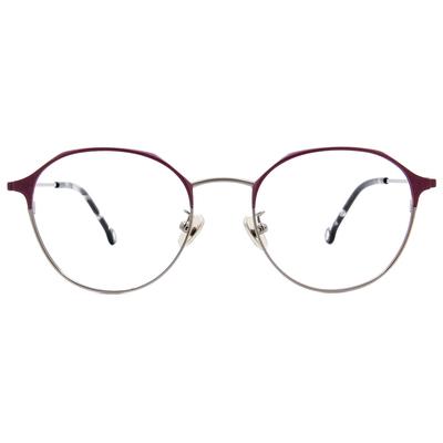K-DESIGN KREATE l 廣告款眼鏡 l 經典復古眉架圓框眼鏡🎨 魅惑紫