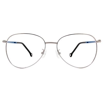 K-DESIGN KREATE l 廣告款眼鏡 l 法式浪漫雷朋美型框眼鏡🎨 槍/星砂藍