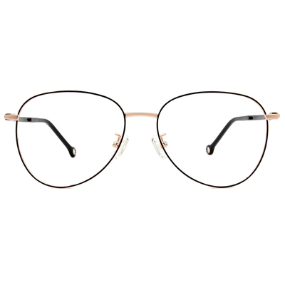 K-DESIGN KREATE 法式浪漫雷朋美型框眼鏡🎨 黑/玫瑰金