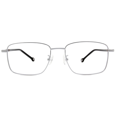 K-DESIGN KREATE 商業美學精緻方框眼鏡🎨 鑽石銀
