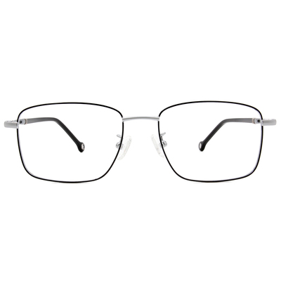 K-DESIGN KREATE 商業美學精緻方框眼鏡🎨 銀/灰綠