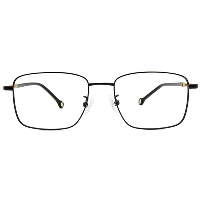 K-DESIGN KREATE 商業美學精緻方框眼鏡🎨 黑/香檳金