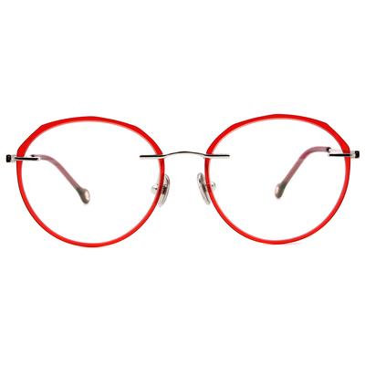 K-DESIGN KREATE l 廣告款眼鏡 l 極限多彩無邊套圈框眼鏡🎨 乾燥玫瑰/蘋果綠