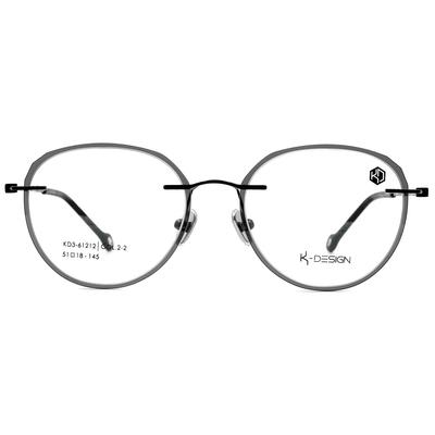 K-DESIGN KREATE 彩漾玩美無邊套圈框眼鏡🎨 活力黑/蘋果綠