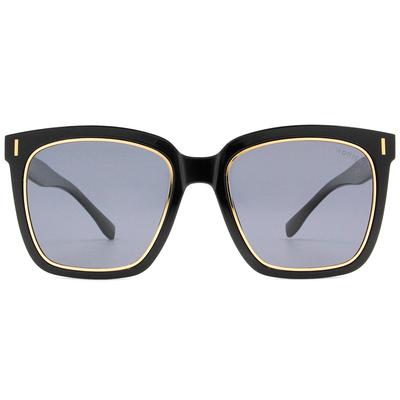 HORIEN 時尚酷炫大方框墨鏡  ☀ 百搭黑