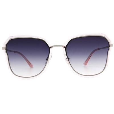 HORIEN 前衛不規則多邊框墨鏡  ☀ 低奢粉