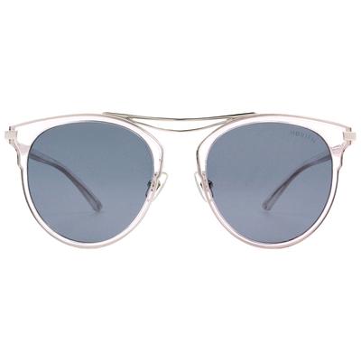 HORIEN 前衛雙桿貓眼框墨鏡  ☀ 低調灰