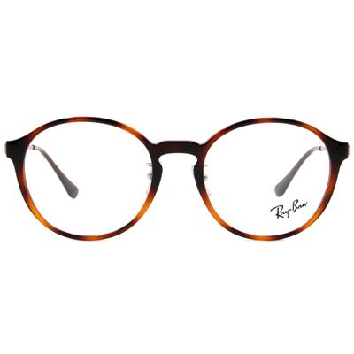 Ray Ban | 波士頓圓框眼鏡 玳瑁棕