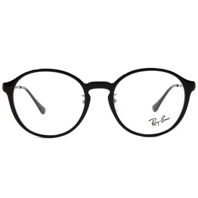 Ray Ban | 波士頓圓框眼鏡 亮黑