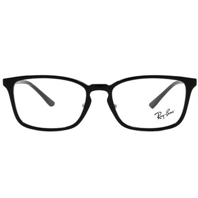 Ray Ban | 威靈頓方框眼鏡 亮黑