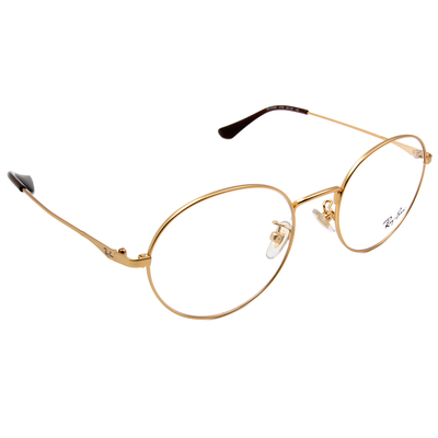 Ray Ban 雷朋│大方時髦 圓框眼鏡 質感金