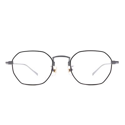Selecta | 低奢復刻多邊框眼鏡 科技銀