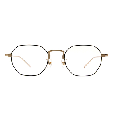 Selecta | 低奢復刻多邊框眼鏡 墨綠色