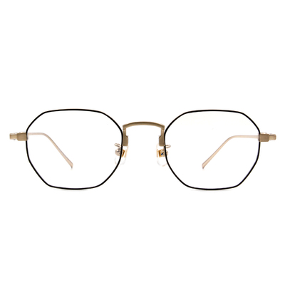 Selecta | 低奢復刻多邊框眼鏡 經典黑