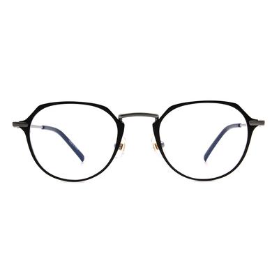 Selecta | 典雅高貴波士頓框眼鏡 霧黑色