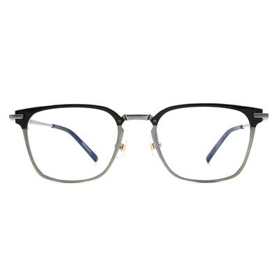 Selecta | 低奢多變拼色款眼鏡 亮黑銀