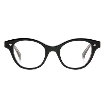Selecta | 端莊典雅的低奢感眼鏡 鋼琴黑
