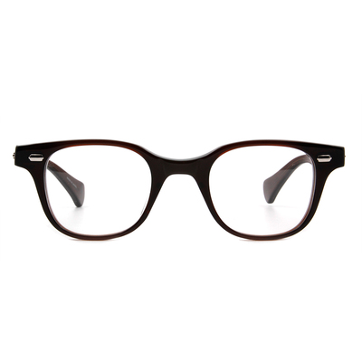 Selecta | 典雅線條的低奢感眼鏡 茶褐色