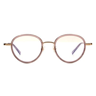 Selecta | 高貴淡雅波士頓框眼鏡 粉藕紫