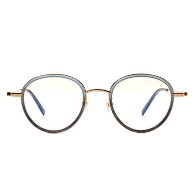 Selecta | 高貴淡雅波士頓框眼鏡 碧海綠