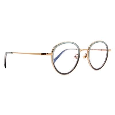Selecta   高貴淡雅波士頓框眼鏡 碧海綠