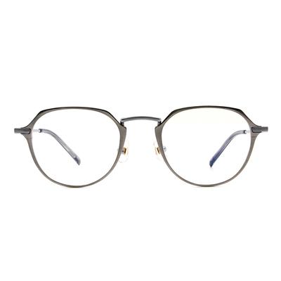 Selecta | 典雅高貴波士頓框眼鏡 鈦金銀