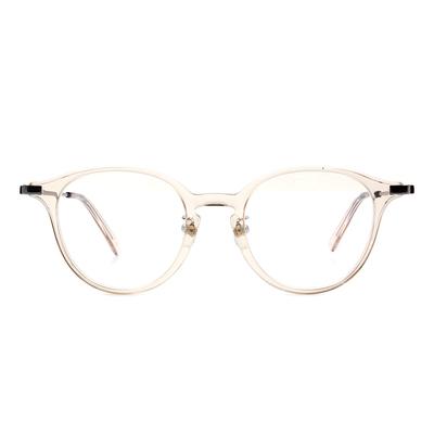 Selecta | 低奢復刻波士頓框眼鏡 透亮灰