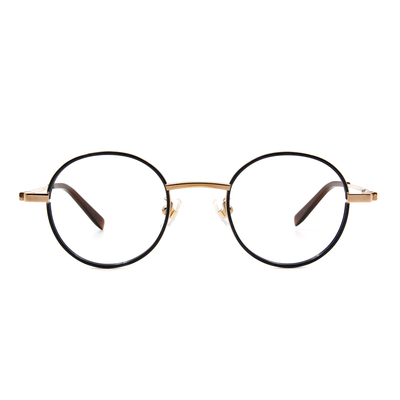 Selecta | 英倫風眼鏡復刻圓框眼鏡 湛藍色