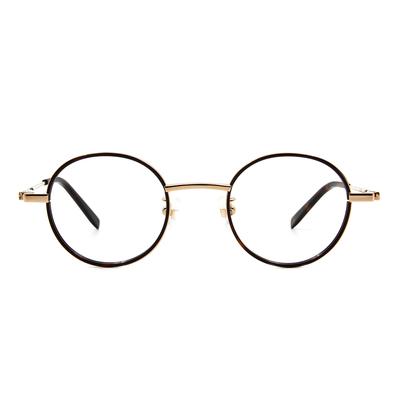 Selecta | 英倫風眼鏡復刻圓框眼鏡 玳瑁棕