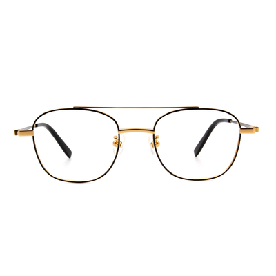 Selecta | 低奢潮流飛官框眼鏡 黑金色
