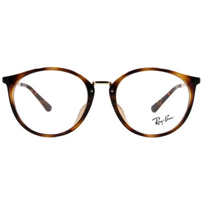 Ray Ban | 時尚學院風眼鏡 玳瑁棕