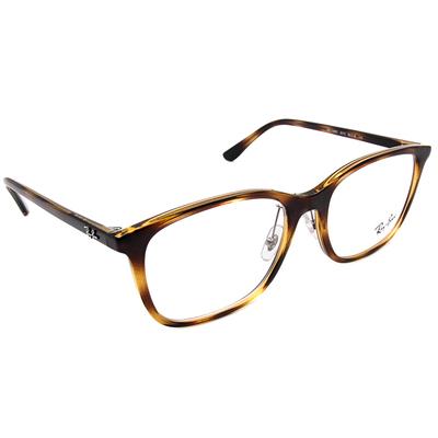 Ray Ban 雷朋│都會人士 威靈頓框眼鏡 迷彩綠