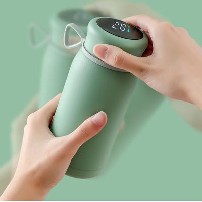 WarmKop 智慧 LED 暖手 多功能恆溫保溫瓶 (5色任選)