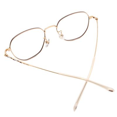 SOU・SOU l 微笑日常 多邊框眼鏡✿茶褐棕