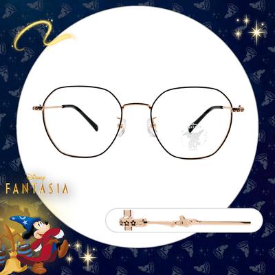 Disney🌟Fantasia l 星空下的魔法 多邊框眼鏡 亮黑金