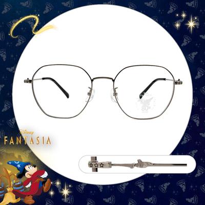 Disney🌟Fantasia l 星空下的魔法 多邊框眼鏡 科技銀