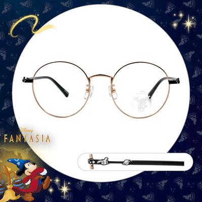 Disney🌟Fantasia l 米奇小星球 圓框眼鏡 魔法金