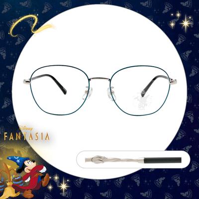 Disney🌟Fantasia l 魔法杖 橢圓框眼鏡 閃耀藍