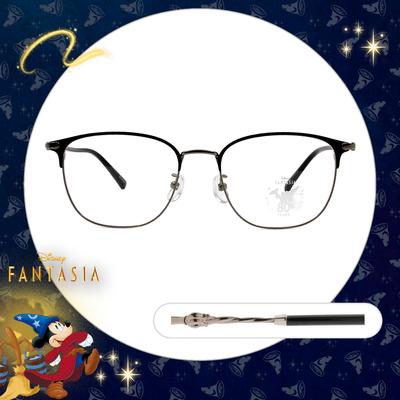 Disney🌟Fantasia l 魔法杖 眉框眼鏡 鐵銀黑